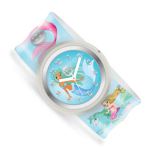 Mermaids Party - Watchitude Slap Watch - Watchitude