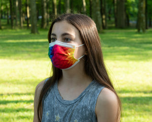 watchitude kids face mask 697 rainbow skin