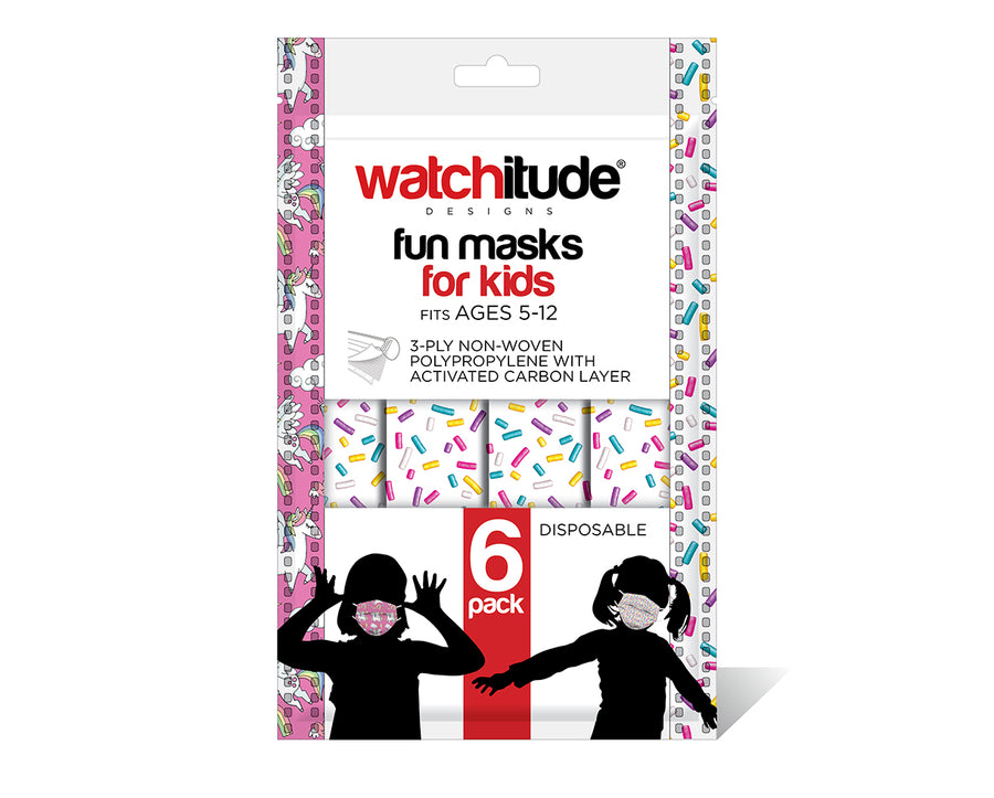 watchitude kids face mask 698 6-pack masks