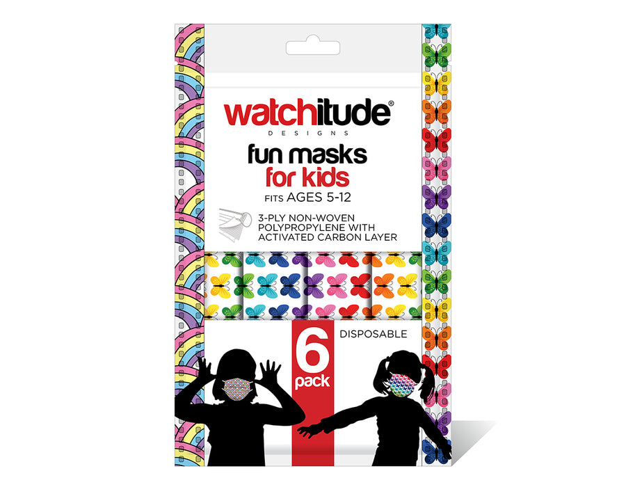 watchitude kids face mask 699 6-pack masks