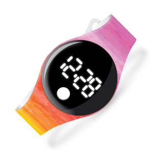 Watercolors - blip digital watch - Watchitude
