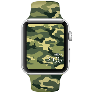 Watch Band - Fits Apple Watch - Army Camo - Choose Size - Watchitude
