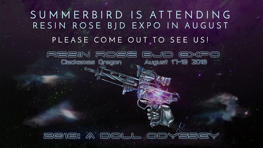 Resin Rose BJD Expo Announcement