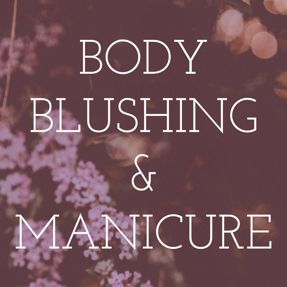 Blushing/Manicure Graphic