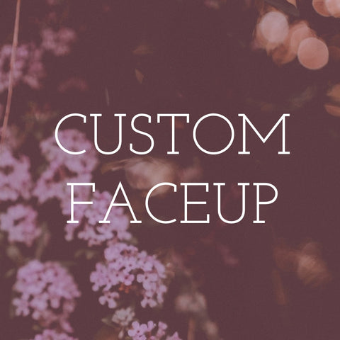 Custom Faceup Graphic