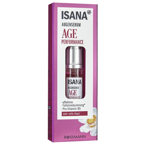 Isana Augenserum Age performance  6ml 抗衰老眼部精华 6 毫升