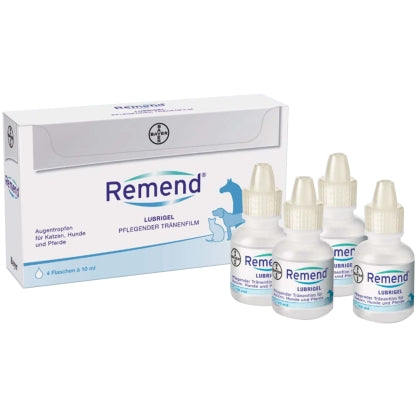 Remend Lubrigel Pflegender Tränenfilm 4 x 10ml