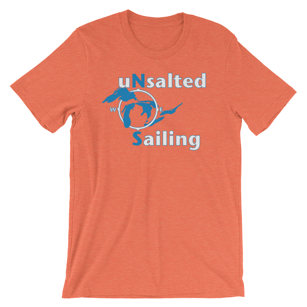 Unsalted Sailing Logo T