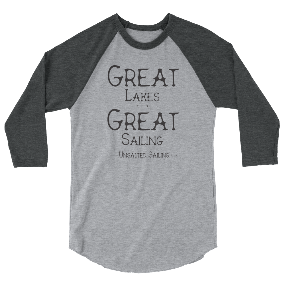 Great Lakes Great Sailing 3/4 Raglan