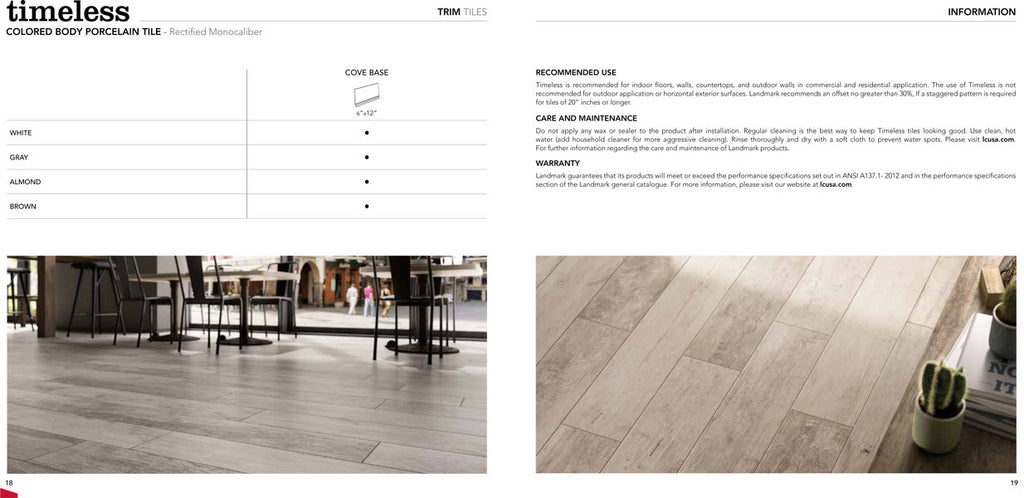 Landmark Timeless Flooring Range