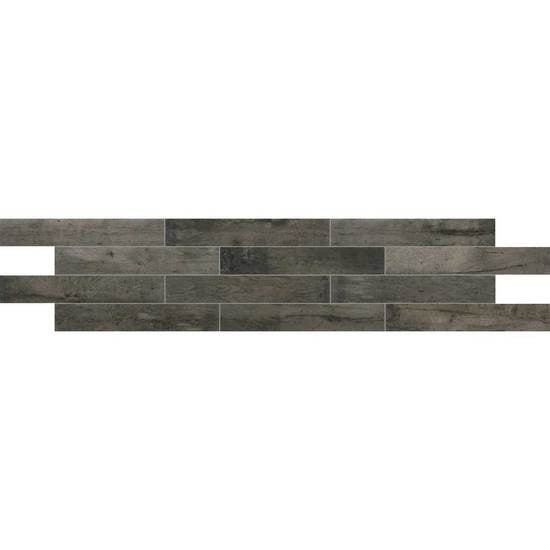 American Olean Historic Bridge 6 in. x 36 in. Porcelain Floor Tile - Old Forge