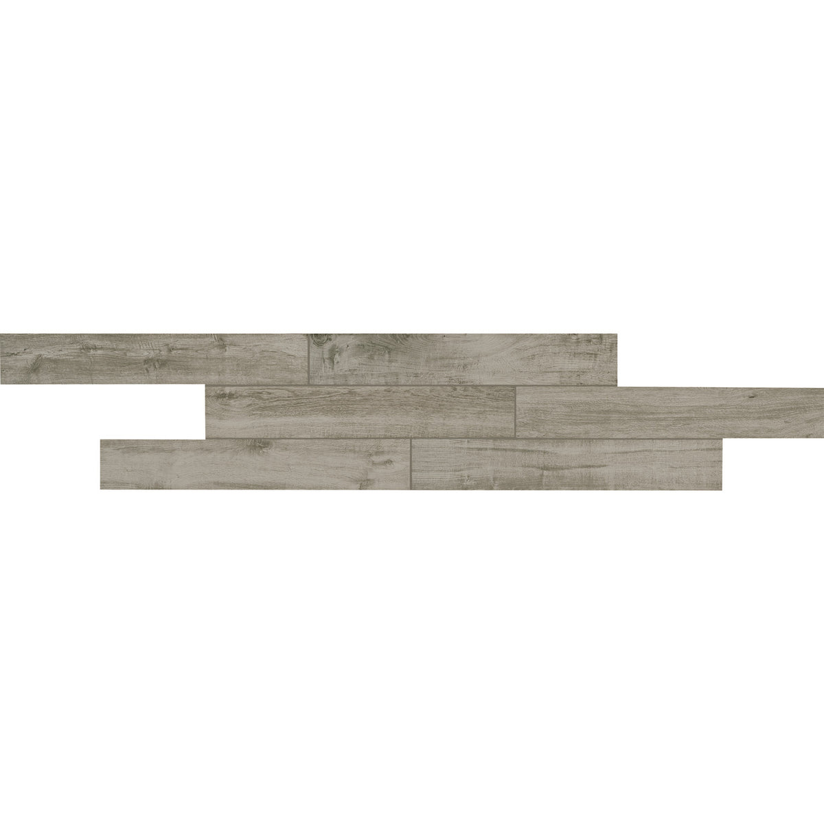 American Olean Creekwood 6 in. x 36 in. Porcelain Floor Tile - Ash River