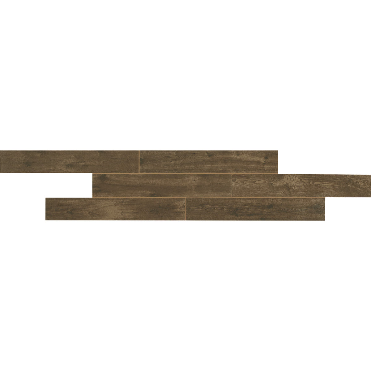 American Olean Creekwood 6 in. x 36 in. Porcelain Floor Tile - Walnut Brook