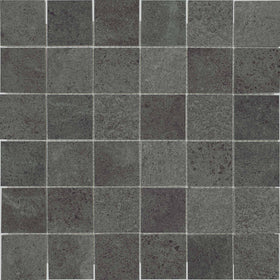 Anatolia - Industria HD Porcelain 2 in. x 2 in. Mosaic - Graphite