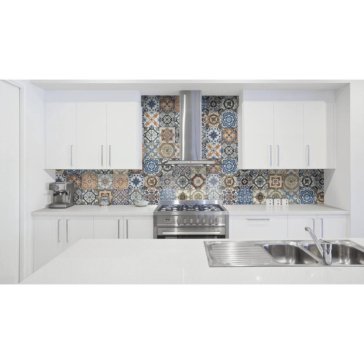 Anatolia - Marrakesh HD 8 in. x 8 in. Matte Porcelain Tile - Color Mix