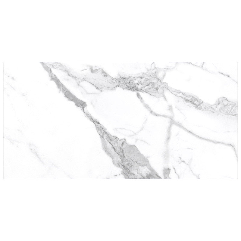 Anatolia Mayfair 12 in. x 24 in. HD Rectified Porcelain Tile Statuario Venato (Polished)