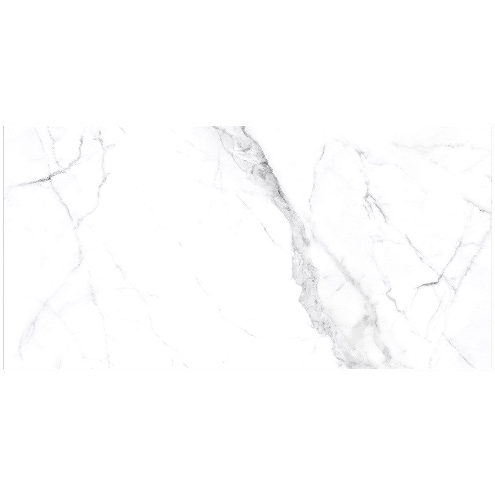Anatolia Mayfair 16 in. x 32 in. HD Rectified Porcelain Tile Statuario Venato