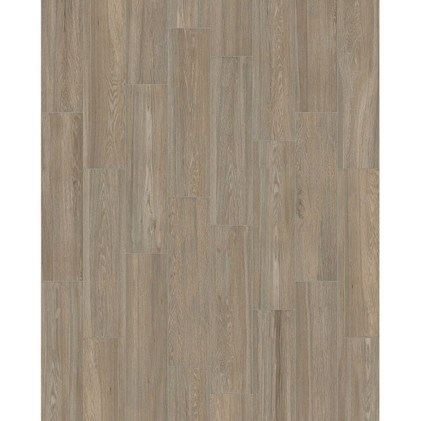 Anatolia Vintagewood 6 In X 36 In Hd Porcelain Tile Ash Floorzz