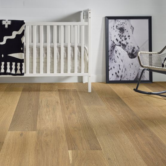 Anderson Tuftex Hardwood - Natural Timbers Smooth - Grove Installed