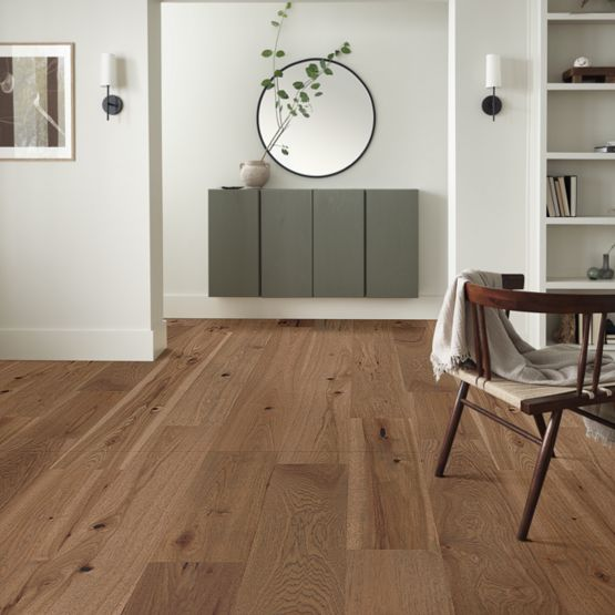 Anderson Tuftex Hardwood - Imperial Pecan - Antique Installed