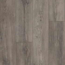 Armstong - Clover Dale Oak Rigid Core 7 in. x 60 in. - Gray Glimmer