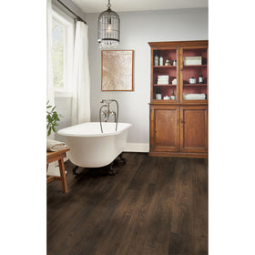 Armstong - Summerfield Oak Rigid Core 7 in. x 60 in. - Dockside Brown