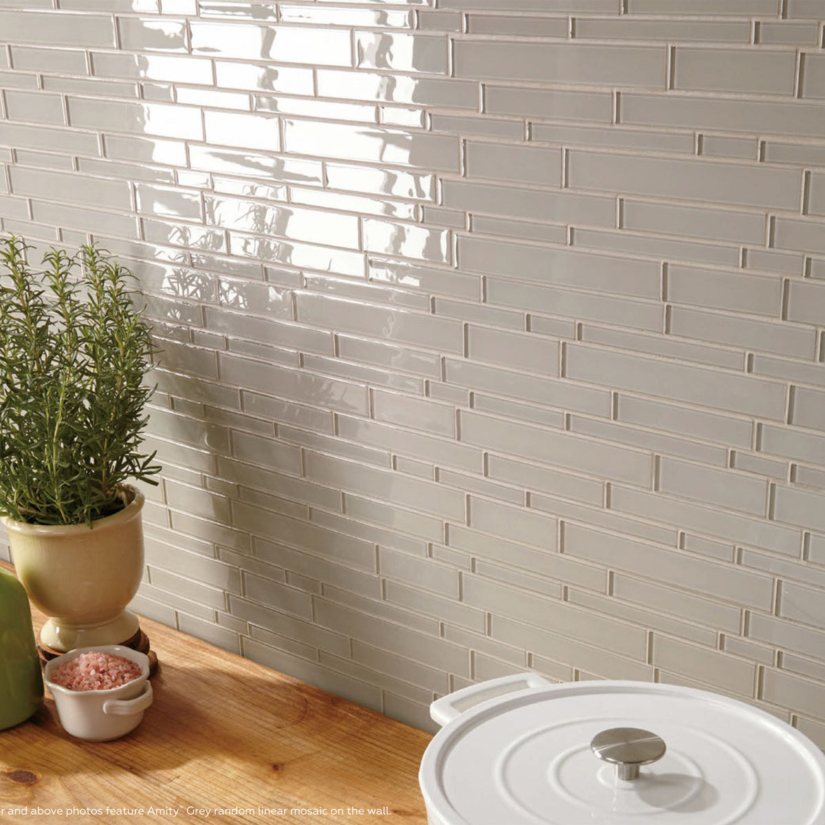 Daltile Amity Linear Mosaic Lifestyle