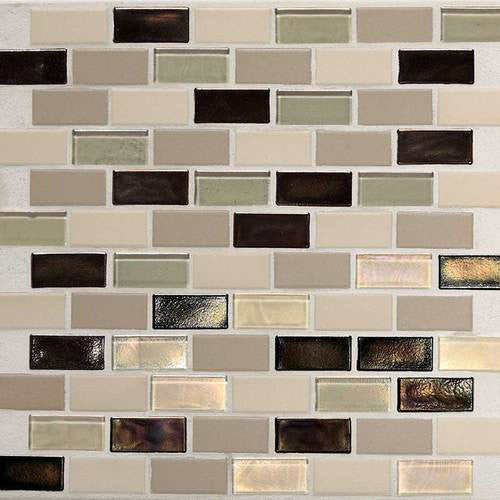 Daltile Coastal Keystones Mosaic Sunset Cove