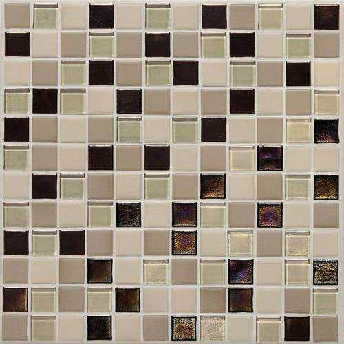 Daltile Coastal Keystones Mosaic Sunset Cove Blend
