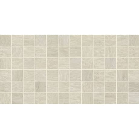 Daltile - Emerson Wood 2 in. x 2 in. Mosaic - Ash White