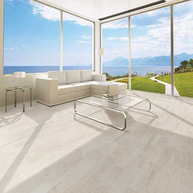 Daltile Forest Park Porcelain Floor Tile - White Oak Lifestyle