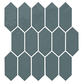 Daltile - Mythology - 2 in. x 5 in. Picket Mosaic - Aura