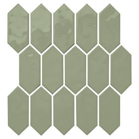 Daltile - Mythology - 2 in. x 5 in. Picket Mosaic - Chronos