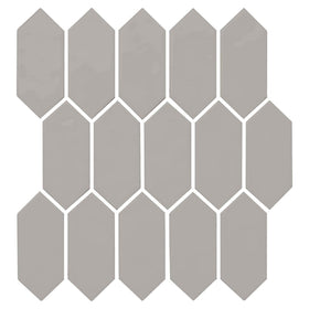 Daltile - Mythology - 2 in. x 5 in. Picket Mosaic - Harmonia