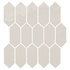 Daltile - Mythology - 2 in. x 5 in. Picket Mosaic - Olympus