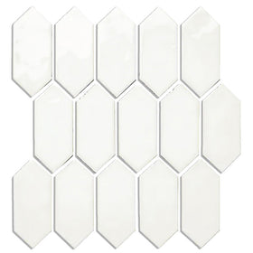 Daltile - Mythology - 2 in. x 5 in. Picket Mosaic - Santorini