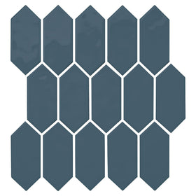 Daltile - Mythology - 2 in. x 5 in. Picket Mosaic - Titan