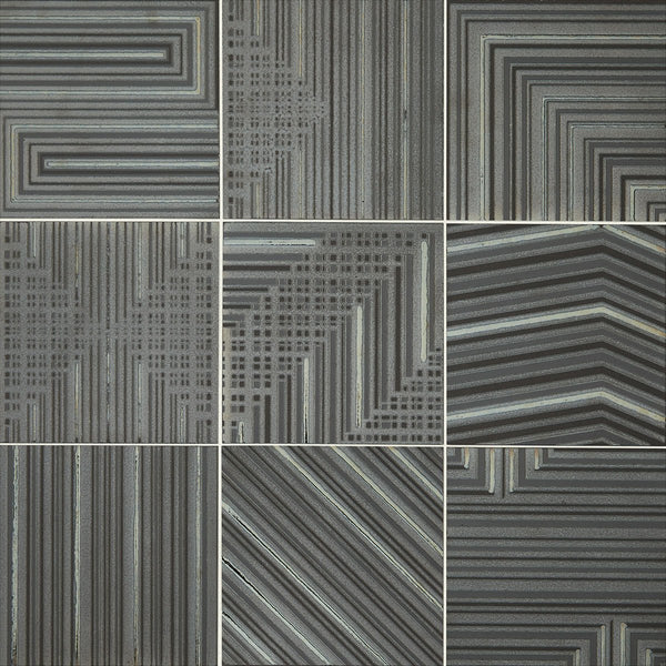 Daltile Geometric Fusion 8 In X 8 In Colorbody Porcelain Tile Grap Floorzz