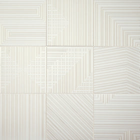 Daltile Geometric Fusion 8 in. x 8 in. Colorbody Porcelain Tile - Pearl GF01