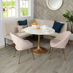 Daltile Trellis Oak 6 in. x 36 in. Porcelain Floor Tile
