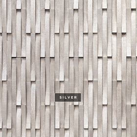 DuChateau - Krescent Wall Coverings - Silver