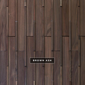 DuChateau - Kubik Wall Coverings - Brown Ash