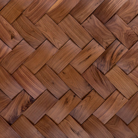 DuChateau - Tresses Wall Coverings - American Walnut