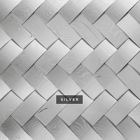 DuChateau - Tresses Wall Coverings - Silver