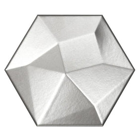 Emser Tile - Code 6 in. x 7 in. Hexagon High Tile - Metallic