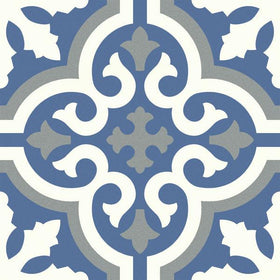 Emser Tile - Design 9 in. x 9 in. Glazed Porcelain Tile - Outline