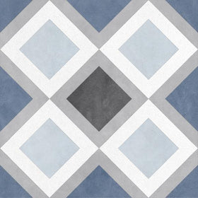 Emser Tile - Design 9 in. x 9 in. Glazed Porcelain Tile - Sketch