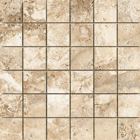 Emser Tile Cabo 2 in. x 2 in. Mesh Mosaic Tile - Cabo Coast