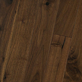 "HomerWood - Premium Solid Traditional Character - 5"" Black Walnut Butter Rum"