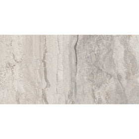 Interceramic - Amalfi Stone - Bianco Scala 12 in. x 24 in. Ceramic Tile